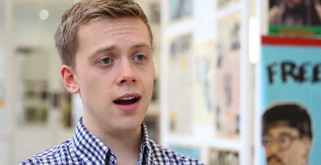 Owen Jones, en una captura de pantalla de Youtube.