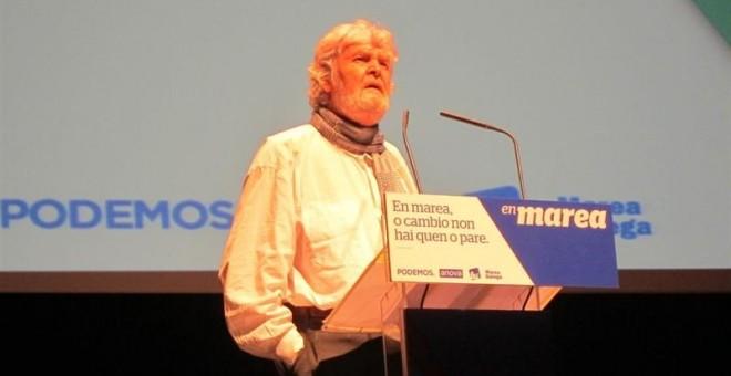 El histórico dirigente nacionalista y portavoz de Anova, Xosé Manuel Beiras
