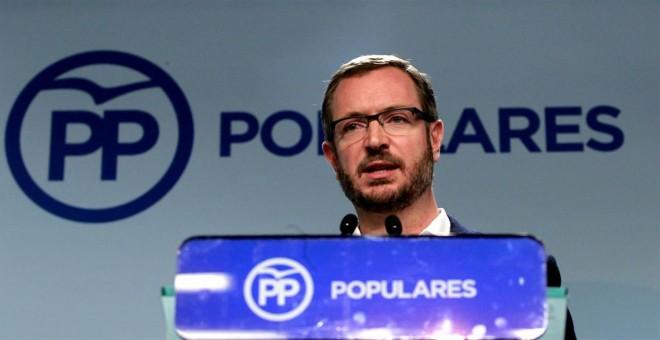 Maroto pide un pacto entre PP, PSOE y C's recordando que ya hubo gran coalición entre socialistas y populares en Euskadi.- EUROPA PRESS
