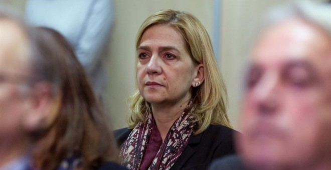 El Tribunal rechaza aplicar la doctrina Botín a la infanta Cristina