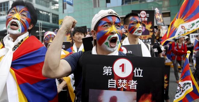 Las ONG denuncian que China tiene 21.000 funcionarios para prevenir protestas en el Tíbet