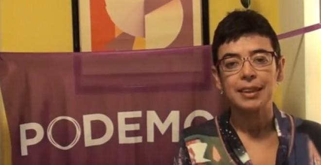 Maria José Aguilar, dirigente de Podemos Castilla-La Mancha