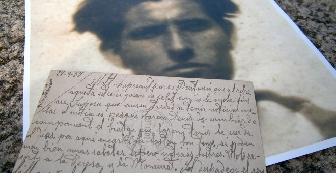 Imágenes cedidas por Marc Antoni Malagarriga de su tío Guillem, desaparecido en 1938.