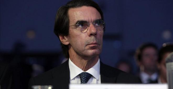 Aznar en una imagen de archivo. EFE