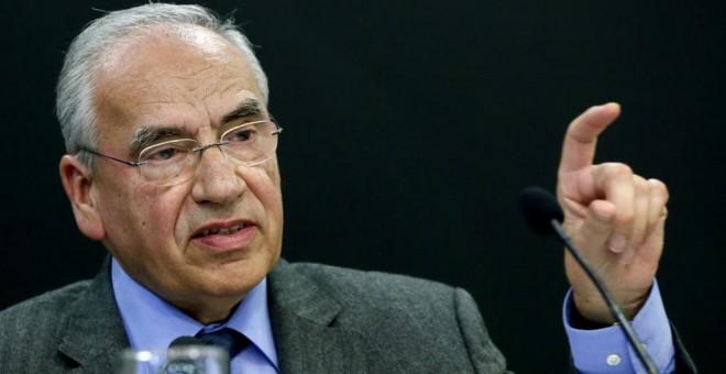 El exvicepresidente del Gobierno Alfonso Guerra.- EFE