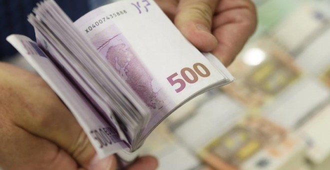 Billetes de 500 euros. REUTERS