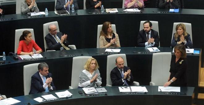 Pleno del Ayuntamiento de Madrid.