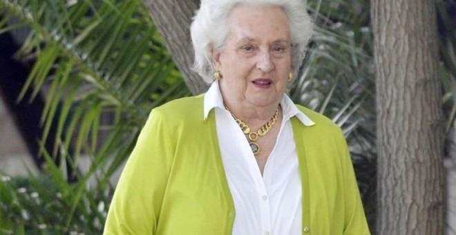 La infanta Pilar de Borbón. E.P.