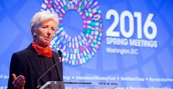 La directora general del Fondo Monetario Internacional (FMI), Christine Lagarde. / EFE