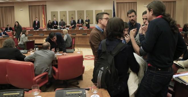 PSOE, PP y C's pactan la Mesa de la Diputación Permanente del Congreso y dejan fuera a Podemos