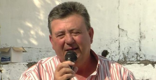 El militante del SAT, Manuel Rodríguez, en una imagen de archivo.