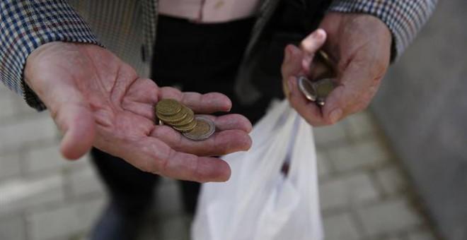 El 29% de los españoles es pobre o está en riesgo de caer en la pobreza.- REUTERS