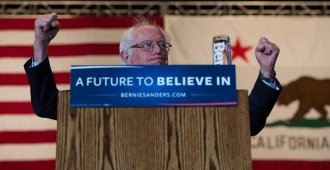 El candidato demócrata Bernie Sanders. EFE