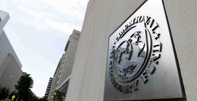 Fachada de la sede del Fondo Monetario Internacional (FMI) en Washington, Estados Unidos. EFE
