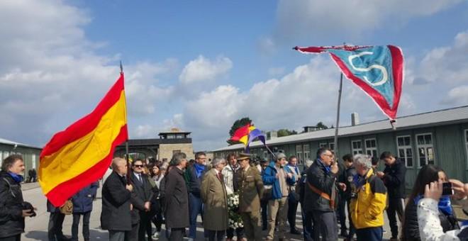 Unas 6.000 personas de numerosos países rindieron hoy homenaje a los cerca de 190.000 prisioneros del campo de concentración nazi de Mauthausen