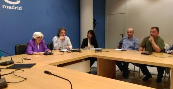 Reunión entre el Comisionado de la Memoria Histórica de Madrid con asociaciones de víctimas de la dictadura y colectivos memorialistas.- TWITTER FORO POR LA MEMORIA