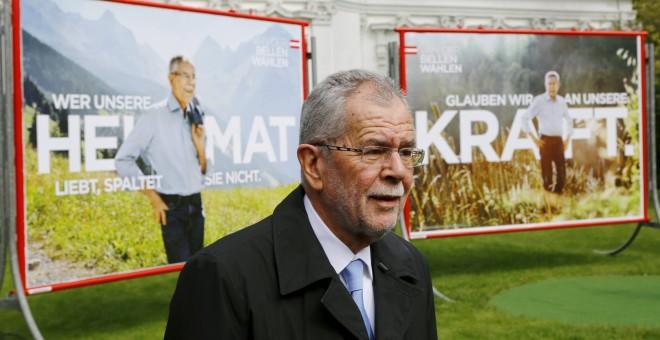 Van der Bellen, recién elegido presidente de Austria.- REUTERS