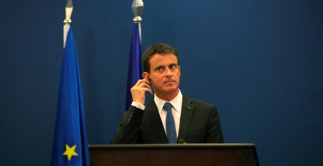 El primer ministro francés, Manuel Valls.- REUTERS/Mohamad Torokman
