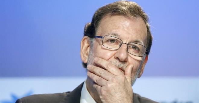 El presidente del Gobierno en funciones, Mariano Rajoy, clausuró este sábado la XXXXII Reunión del Circulo de Economía que se celebra de Sitges que este año ha reunido a los principales líderes políticos del país, a las puertas de la campaña para las elec