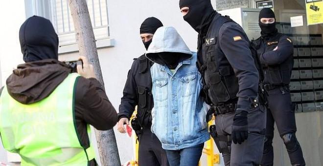 Detención de un presunto yihadista en Barcelona.- EFE