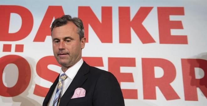 Norbert Hofer, candidato presidencial del Partido Liberal de Austria (FPÖ). - EFE