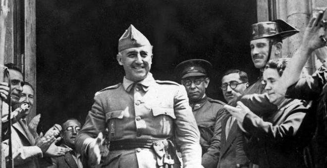 El dictador Francisco Franco en una imagen de archivo.- EFE