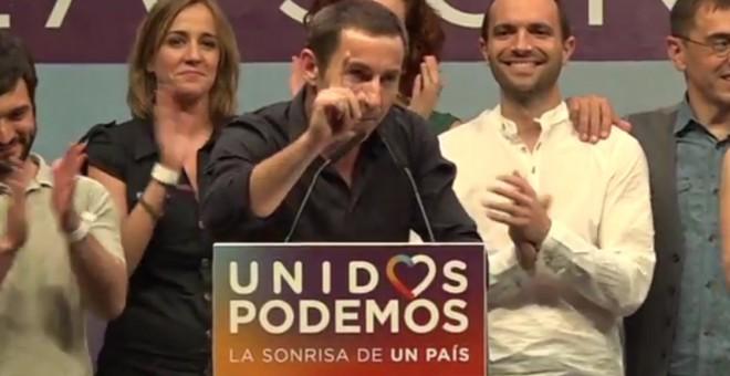 El actor Antonio Latorre ha sido el encargado de presentar a Pablo Iglesias