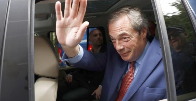 Nigel Farage, el hasta ahora líder del Partido de la Independencia del Reino Unido (UKIP). - REUTERS
