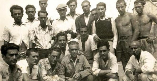 Presos canarios durante los primeros años de dictadura