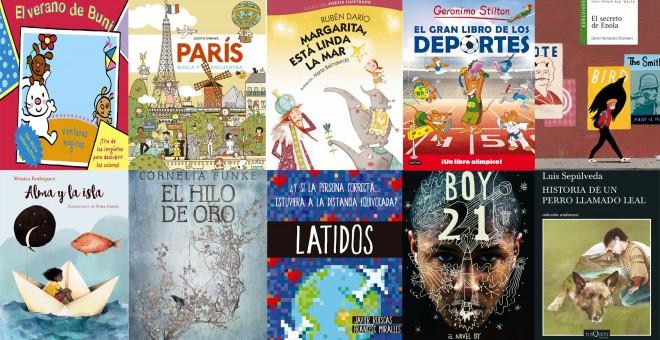 Libros que van de veraneo: Diez propuestas para que los niños también lean en vacaciones