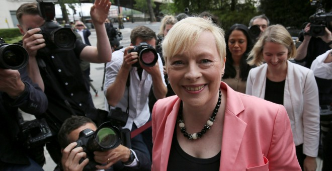 La diputada laborista Angela Eagle. - REUTERS