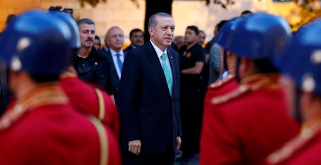El presidente de Turquía, Recep Tayyip Erdogan. - REUTERS