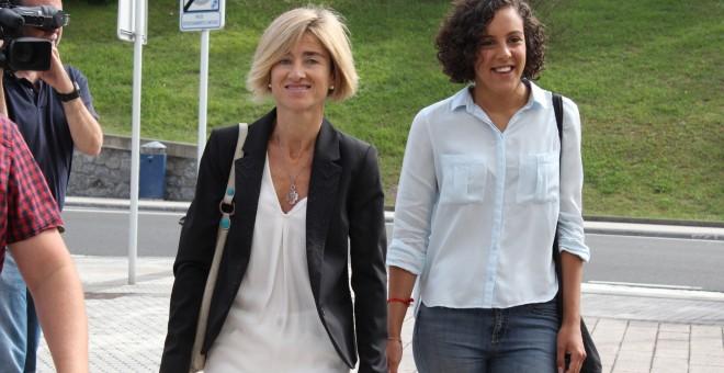 La candidata de Podemos a lehendakari, Pilar Zabala. Foto: PODEMOS