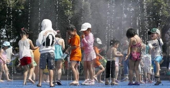 Niños en un campamento de verano en una imagen de archivo. EFE