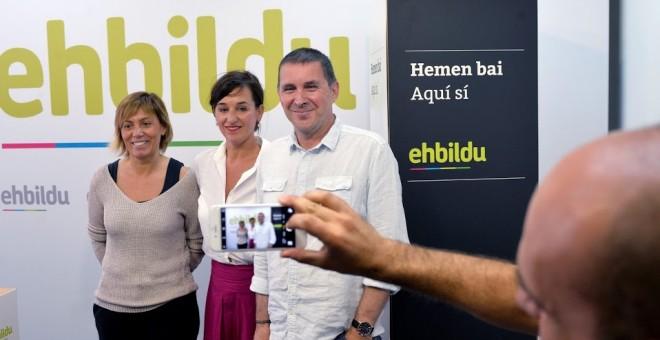 El candidato de EH Bildu a lehendakari, Arnaldo Otegi. REUTERS