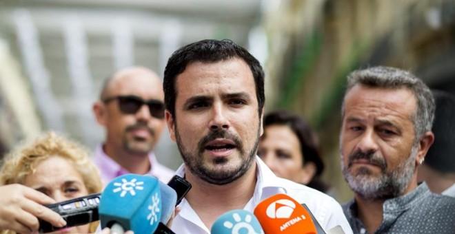 El coordinador general de Izquierda Unida, Alberto Garzón.-EFE