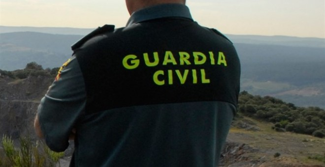 Un agente de la Guardia Civil. E.P.