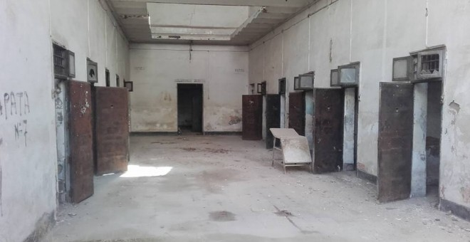 Estado de la antigua cárcel.