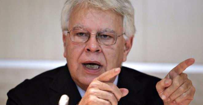 El expresidente del Gobierno Felipe González. EFE
