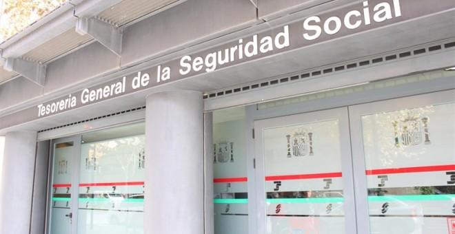 Una oficina de la Tesorería de la Seguridad Social. E.P.