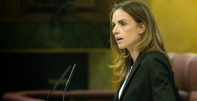 La diputada socialista Susana Sumelzo en la tribunal el Congreso. EFE