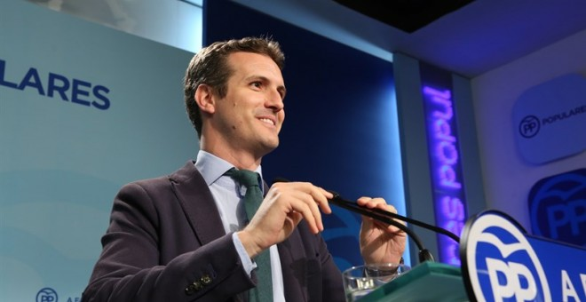 Pablo Casado.- EUROPA PRESS