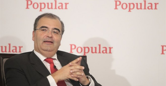 Ángel Ron, presidente del Banco Popular. / EUROPA PRESS
