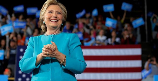 La candidata demócrata a la Casa Blanca, Hillary Clinton.- REUTERS