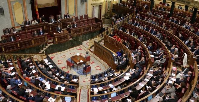 Una sesión del Pleno del Congreso de los Diputados