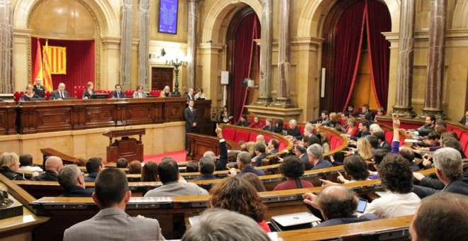 Pleno del Parlament. / EUROPA PRESS