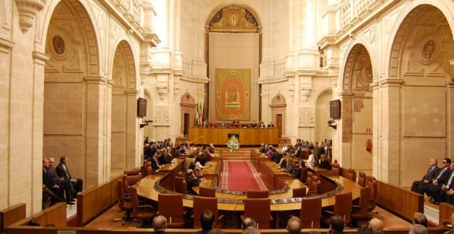 Imagen del Parlamento andaluz./ EFE