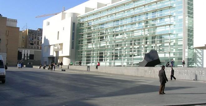 El MACBA, un dels equipaments que ha rebut subvencions recentment de l'Ajuntament de Barcelona.