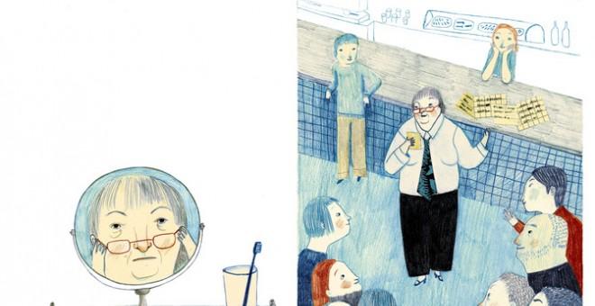 Gloria Fuertes, la 'poeta de los niños'. EFE