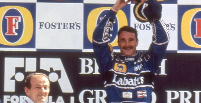 Nigel Mansell. /CORDON PRESS